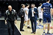 Gianmarco Pozzecco<br /> UNAHotels Reggio Emilia - Banco di Sardegna Dinamo Sassari<br /> LBA Legabasket Serie A UnipolSai 2020-2021<br /> Bologna, 03/01/2021<br /> Foto L.Canu / Ciamillo-Castoria