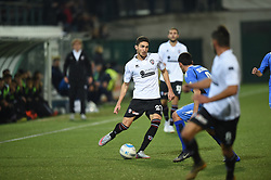 November 3, 2018 - Vercelli, Italy - Italian midfielder Paolo Azzi from Pro Vercelli team playing during Saturday evening's match against Novara Calcio valid for the 10th day of the Italian Lega Pro championship  (Credit Image: © Andrea Diodato/NurPhoto via ZUMA Press)