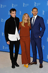 """Robert Pattinson, Charlie Hunnam, Sienna Miller attending the photocall for """"The Lost City of Z"""" as part of the 67th Berlin International Film Festival, Berlin, Germany."""