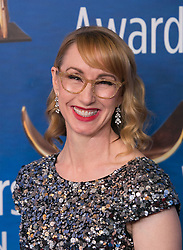February 17, 2019 - Beverly Hills, California, U.S - Kira Snyder in the red carpet of the 2019 Writers Guild Awards at the Beverly Hilton Hotel on Sunday February 17, 2019 in Beverly Hills, California. ARIANA RUIZ/PI (Credit Image: © Prensa Internacional via ZUMA Wire)