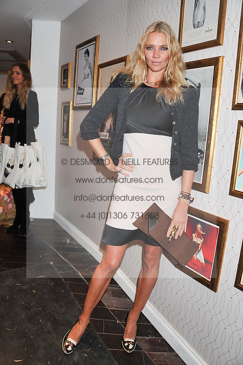 JODIE KIDD at the launch of Maison Triumph, 71 Monmouth Street, Covent Garden, London on 14th February 2013.