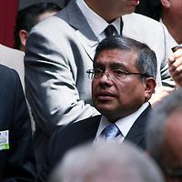 Toluca,  Mex -  Jesus Castillo Sandoval durante la presentacion del Plan de  Desarrollo Estatal 2011-2017 del gobernador Eruviel Avila Villegas.   Agencia MVT / Jose Hernadez