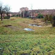 Verhuizing bewoners de Bolder Huizen naar de Heul Bussum ivm renovatie, open terrein woningen de Bolder