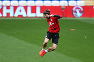 Gareth Bale of Wales in action during the Wales football team training at the Cardiff city Stadium in Cardiff , South Wales on Saturday 8th October 2016, the team are preparing for their FIFA World Cup qualifier home to Georgia tomorrow. pic by Andrew Orchard, Andrew Orchard sports photography