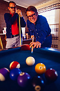 "Billy Carter and his friend Tommy Butler play pool. William Alton - Billy - Carter (March 29, 1937 – September 25, 1988) was an American farmer, businessman, brewer, and politician, and the younger brother of U.S. President Jimmy Carter. Carter promoted Billy Beer and was a candidate for mayor of Plains, Georgia. Carter was born in Plains, Georgia, to James Earl Carter Sr. and Lillian Gordy Carter. He was named after his paternal grandfather and great-grandfather, William Carter Sr. and William Archibald Carter Jr. respectively. He attended Emory University in Atlanta but did not complete a degree. He served four years in the United States Marine Corps, then returned to Plains to work with his brother in the family business of growing peanuts. In 1955, at the age of 18, he married Sybil Spires (b. 1939), also of Plains. They were the parents of six children: Kim, Jana, William ""Buddy"" Carter IV, Marle, Mandy, and Earl, who was 12 years old when his father died."