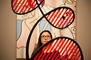 London, UK. Monday 18th February 2013. Lichtenstein: A Retrospective at  Tate Modern brings together 125 of artist Roy Lichtenstein's most definitive paintings and sculptures. Galatea (1990)