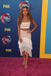 FOX's Teen Choice Awards 2018 at The Forum in Inglewood. California on August 12, 2018. CAP/MPIFS ©MPIFS/Capital Pictures. 12 Aug 2018 Pictured: Vanessa Morgan. Photo credit: MPIFS/Capital Pictures / MEGA TheMegaAgency.com +1 888 505 6342