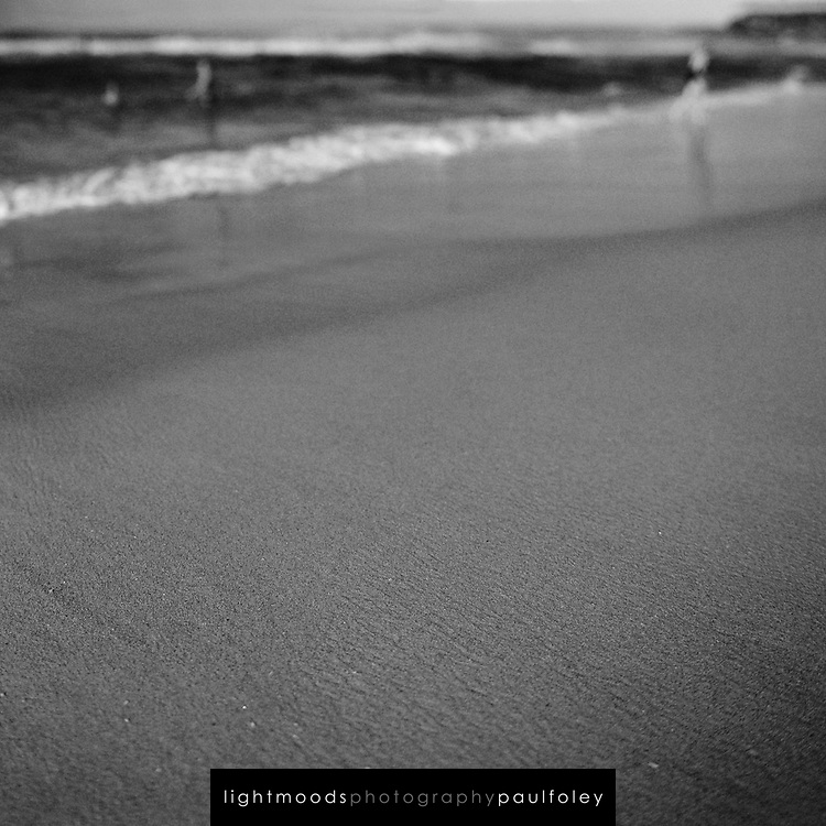 Selective Focus details of Bar Beach, Newcastle, East Coast Australia