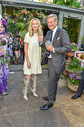 Noelle Reno and Rob Hersov at The Ivy Chelsea Garden Summer Party ,The Ivy Chelsea Garden, King's Road, London, England. 14 May 2019. <br /> <br /> ***For fees please contact us prior to publication***