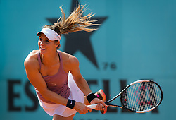 May 3, 2019 - Madrid, MADRID, SPAIN - Mandy Minella of Luxembourg in action during qualifications at the 2019 Mutua Madrid Open WTA Premier Mandatory tennis tournament (Credit Image: © AFP7 via ZUMA Wire)