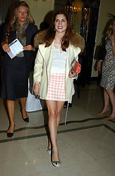 """VANESSA NEUMANN at a party to celebrate the publication of Bruce Oldfield's autobiography """"Rootless"""" held in aid of Crimestoppers at Claridge's, Brook Street, London W1 on 22nd September 2004.<br /><br />NON EXCLUSIVE - WORLD RIGHTS"""