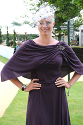 Model JODIE KIDD at the 3rd day of the 2008 Glorious Goodwood racing festival at Goodwood Racecourse, West Sussex on 31st July 2008.<br /> <br /> NON EXCLUSIVE - WORLD RIGHTS