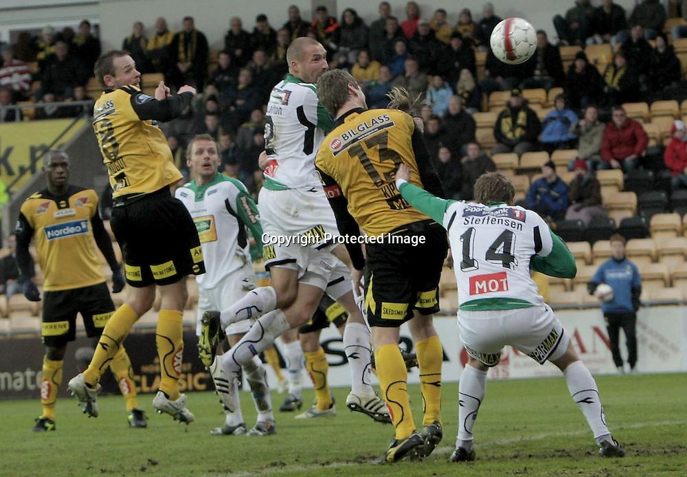 LILLESTRØM..20100328: Lillestrøm- Hønefoss 6-0. .4-0. Frode Kippe scorer..Foto: Daniel Sannum Lauten