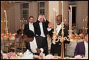 JACK STANTON; FAROUK ABDUL RAZAQ; ALEX PROUDLOCK;  KOLA LAWAL;, Florence Heoluwa 'Cuppy' Otedola Marie Antoinette Graduation party. Mandarin Oriental, Knightsbridge25th of July 2014.