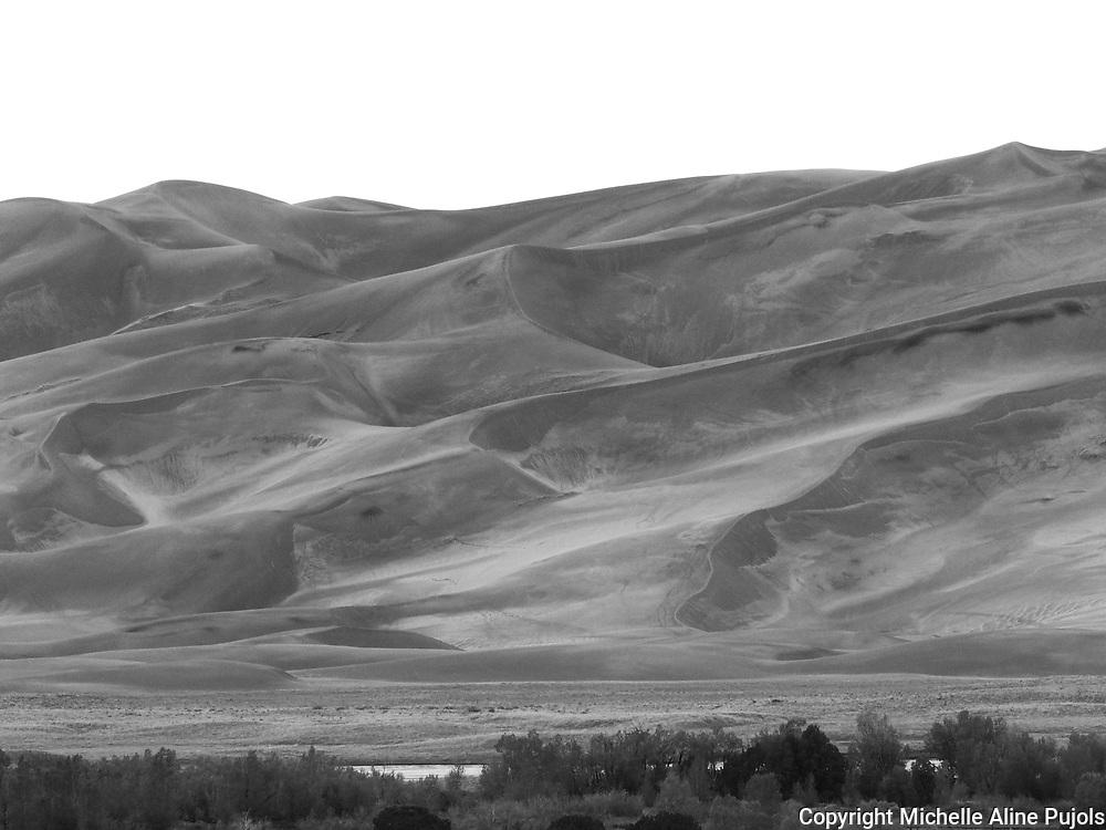 Dunes at Great Sand Dunes National Park, Colorado
