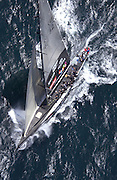 NZL 82 on leg one of race one of the America's Cup 2003. 15/2/2003 (© Chris Cameron 2003)