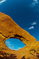 North Window, Arches National Park, near Moab, Utah USA