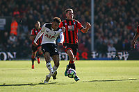 Football - 2016 / 2017 Premier League - AFC Bournemouth vs. Tottenham Hotspur<br /> <br /> Dele Alli of Tottenham Hotspur out paces Bournemouth's Dan Gosling to set up another Tottenham attack at Dean Court (The Vitality Stadium) Bournemouth<br /> <br /> COLORSPORT/SHAUN BOGGUST