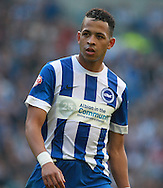 Brighton defender full back Liam Rosenior during the Sky Bet Championship match between Brighton and Hove Albion and Cardiff City at the American Express Community Stadium, Brighton and Hove, England on 3 October 2015. Photo by Bennett Dean.