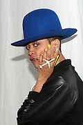 August 25, 2012-Brooklyn, NY: Recording Artist Erykah Badu backstage   at the Afropunk Festival 2012 held in Brooklyn, NY on August 25, 2012. The Afropunk Festival has become a Brooklyn intuition, the focal point for the burgeoning Afro-punk movement. Over the past seven years, the festival has presented new artists before they hit it big, such as Grammy-nominated Santigold, The Noisettes and Janelle Monae. Afro-punk mainstays like Saul Williams, The Dirtbombs, and Dallas Austin have also graced Afro-punk's stages. (Terrence Jennings/TerrenceJennings.com)
