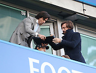 Andrea Pirlo signs his autograph during the Premier League match at Stamford Bridge Stadium, London. Picture date December 11th, 2016 Pic David Klein/Sportimage