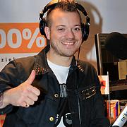 NLD/Hilversum/20130109 - Uitreiking 100% NL Awards 2012, Gers Pardoel in de studio