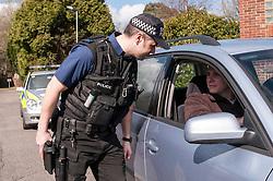 Police armed response team
