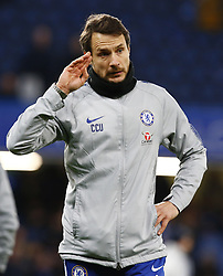 February 18, 2019 - London, United Kingdom - Chelsea Assistant Coach Carlo Cudicini.during FA Cup Fifth Round between Chelsea and Manchester United at Stanford Bridge stadium , London, England on 18 Feb 2019. (Credit Image: © Action Foto Sport/NurPhoto via ZUMA Press)