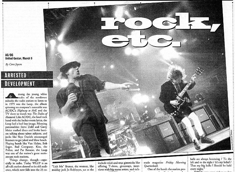 Chicago Reader - AC/DC