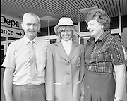 Olympic Team Leaves Dublin Airport.05/07/1976<br />