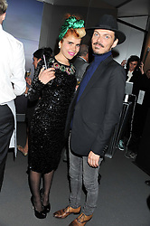 MATTHEW WILLIAMSON and PALOMA FAITH at the Global Launch of Audi's first Digital Showroom, 74-75 Piccadilly, London on 16th July 2012.