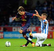 Huddersfield Town v FC Barcelona B 080812