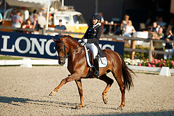 Kanerva Emma, FIN, Greek Air<br /> World ChampionshipsYoung Dressage Horses<br /> Ermelo 2018<br /> © Hippo Foto - Dirk Caremans<br /> 03/08/2018