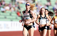 Friidrett ,  11. juni 2015 , Diamond League , Bislett Games , Oslo<br />  Atheltics<br /> 1500 m<br /> Lisbeth Pedersen , NOR