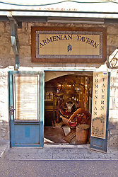Armenian Tavern, Old City, Jerusalem