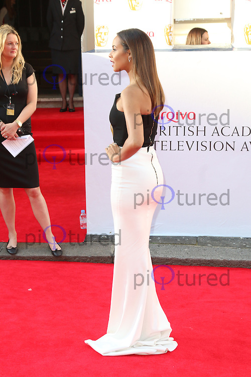 Rochelle Humes, Arqiva British Academy Television Awards - BAFTA, Theatre Royal Drury Lane, London UK, 18 May 2014, Photo by Richard Goldschmidt