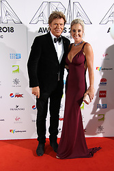 The annual Australian Record Industry Awards celebrate the best in music, held at The Star, Pyrmont, Sydney, Australia. 28 Nov 2018 Pictured: Richard Wilkins, Virginia Burmeister. Photo credit: Richard Milnes / MEGA TheMegaAgency.com +1 888 505 6342