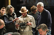 'Lost in London' film rehearsals, the film is directed and stars Woody Harrelson, and is based on really events that happened to Woody.