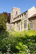 Village parish church of All Saints, Wetheringsett, Suffolk, England, UK