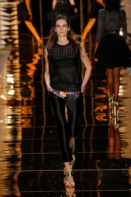 Models walk the runway during the Cynthia Rowley Spring 2012 fashion show during New York Fashion Week, NYC, NY, USA.