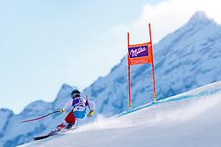 18.01.2018, Olympia delle Tofane, Cortina d Ampezzo, ITA, FIS Weltcup Ski Alpin, Abfahrt, Damen, 2. Training, im Bild Joana Haehlen (SUI) // Joana Haehlen of Switzerland in action during the 2nd practice run of ladie' s downhill of the Cortina FIS Ski Alpine World Cup at the Olympia delle Tofane course in Cortina d Ampezzo, Italy on 2018/01/18. EXPA Pictures © 2018, PhotoCredit: EXPA/ Dominik Angerer