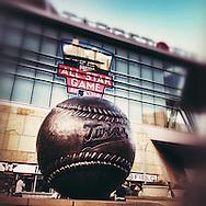 iPhone Instagram of Target Field in Minneapolis, Minnesota on September 17, 2014