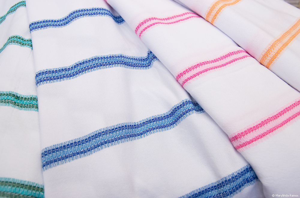 """A pestamel (pronouned """"pesh-ta-mel"""") is like a sarong and is traditionally worn at a hamam or Turkish bath."""