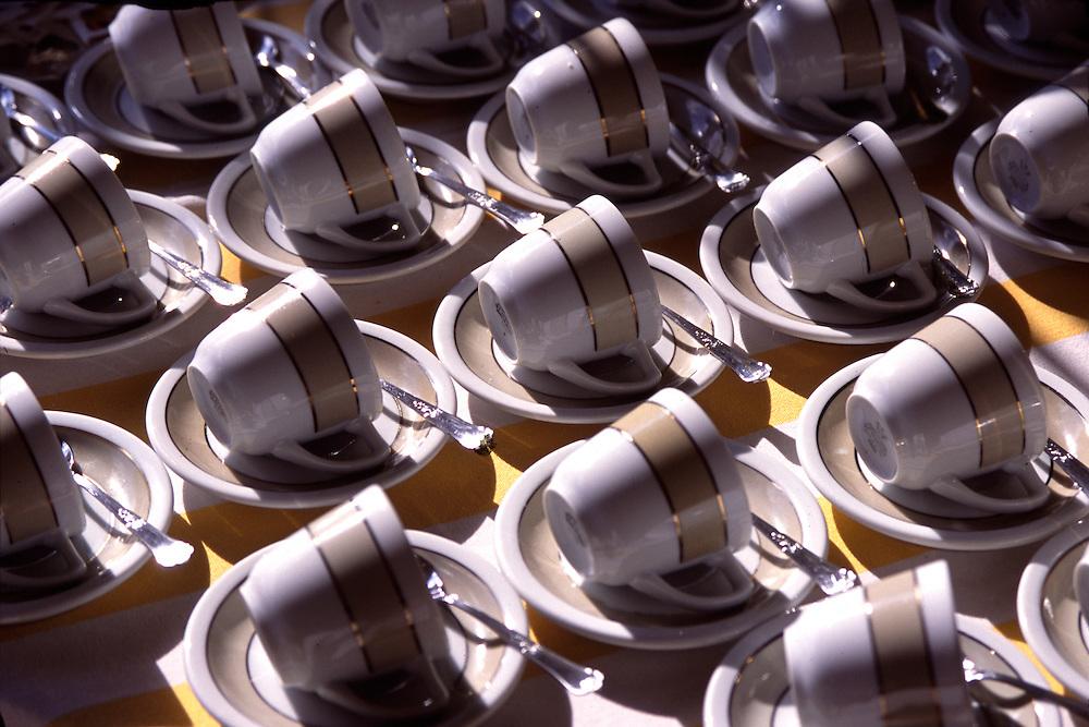 Belo Horizonte_MG, Brasil...Detalhe de xicaras...In this photo some cups...Foto: LEO DRUMOND / NITRO