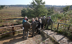 File photo dated 30/09/13 of The Duke of Edinburgh visiting a TCV conservation project at the Dersingham Bog Nature Reserve, on the Royal Sandringham Estate, Norfolk. The Queen privately owns Sandringham House and its vast surrounding estate, which includes 16,000 acres of farmland, 3,500 acres of woodland and 150 properties. Philip took on overall responsibility for the management of the estate at the start of the QueenÕs reign in 1952. He concentrated on maintaining it for future generations, ensuring conservation was at the heart of the way it was run. The Duke of Edinburgh spent much of his retirement at Wood Farm on the Sandringham estate. Issue date: Friday April 9, 2021.