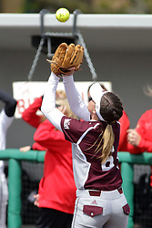 22 April 2017:  Bethany Sullinger during a Missouri Valley Conference (MVC) women's softball game between the Missouri State Bears and the Illinois State Redbirds on Marian Kneer Field in Normal IL