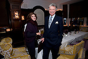 MARINA PALMA; WILLIAM SHAWCROSS, Graydon and Anna Carter host a lunch for Carolina Herrera to celebrate the ipening of her new shop on Mount St. .The Connaught. London. 20 January 2010
