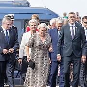 NLD/Terneuzen/20190831 - Start viering 75 jaar vrijheid, Minister Ank Bijleveld met buitenlandse genodigden