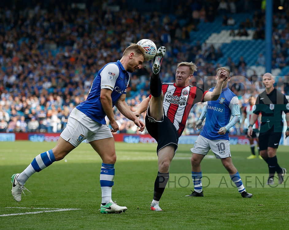 Mark Duffy of Sheffield Utd during the Championship match at the Hillsborough Stadium, Sheffield. Picture date 24th September 2017. Picture credit should read: Simon Bellis/Sportimage