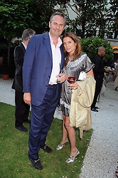 WILLIAM and VANESSA CASH at the Tatler Summer Party, The Hempel Hotel, 31-35 Craven Hill Gardens, London W2 on 25th June 2008.<br /><br />NON EXCLUSIVE - WORLD RIGHTS